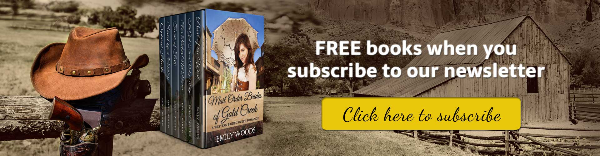 Free romance books when you subscribe to our newsletter